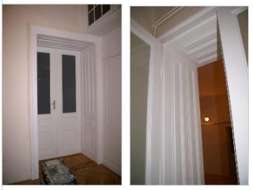 Renovace dveří v bytě