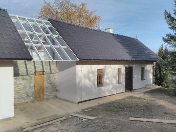 Atypické zasklení střechy - prosklená střecha