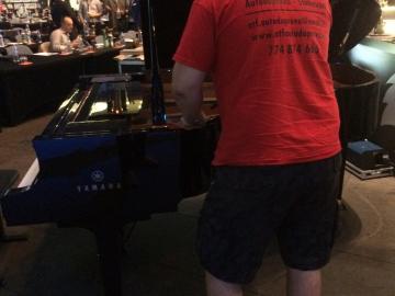 Velký klavír  O2 Arena Praha