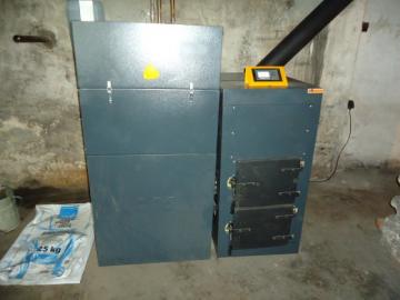 automatický kotel, vytápění