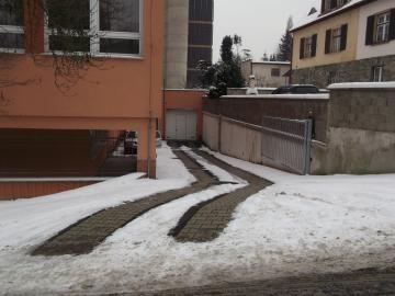 Ochrana venkovních ploch, vjezd Ústí nad Labem