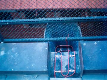 Ochrana okapu a svodu topnými kabely DEVIflex