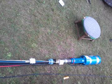 Instalace čerpadla a hlídačů hladiny