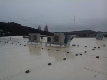 Samostatné split systémy pro prodejnu LIDL v Berouně