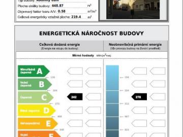 Průkazy energetické náročnosti budov, energetické štítky