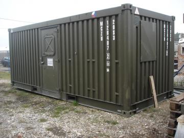 Servis chladících kontejnerů nejen pro ministerstvo obrany ČR