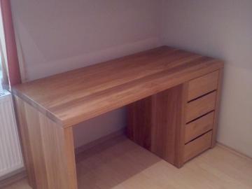 Počítačový stůl - masiv dub