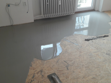 Stěrkování podlah