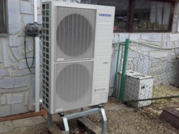 Montáž tepelného čerpadla SAMSUNG EHS SPLIT 16 kW