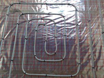Montáže podlahového topení na reflexní fólii